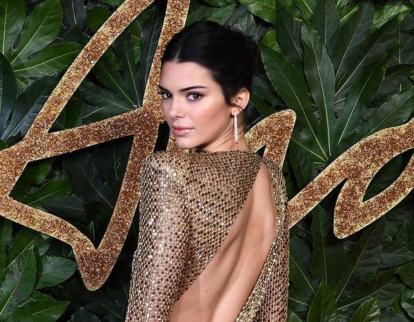 Kendall Jenner Is Near Naked at the British Fashion Awards