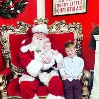 Hilary Duff and Other Celebs Share Pics of Their Kids Meeting Santa