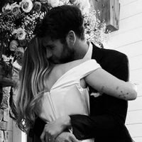 Take a First Look at Miley Cyrus' Beautiful Wedding Dress