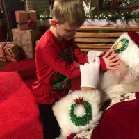 6-Year-Old Boy Who Is Blind 'Sees' Santa for the First Time: 'My Heart Is So Full,' His Mom Says