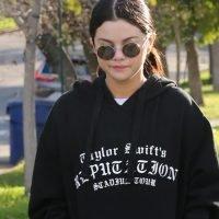 Selena Gomez Rocks Her Taylor Swift Hoodie for a Walk in LA!