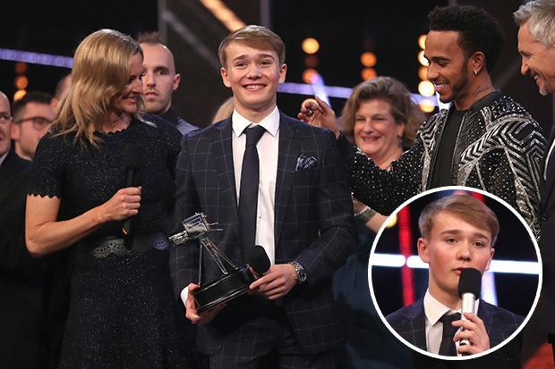 BBC Sport Personality of the Year: 'Tearful' Billy Monger cut off by Clare Balding on BBC SPOTY 2018 as he thanked parents