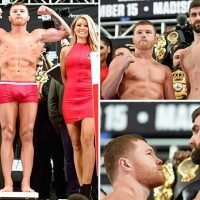 Canelo Alvarez aiming for Gennady Golovkin hat-trick after taking Rocky Fielding's super-middleweight belt