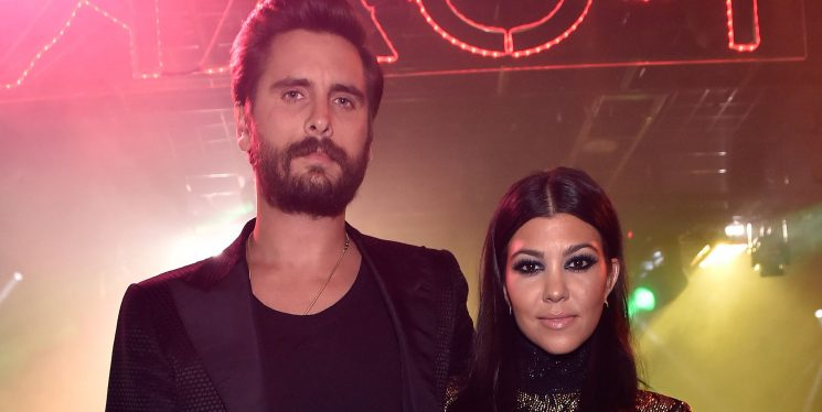 Kourtney and Scott Just Shared a Hilarious Picture Describing Their Relationship