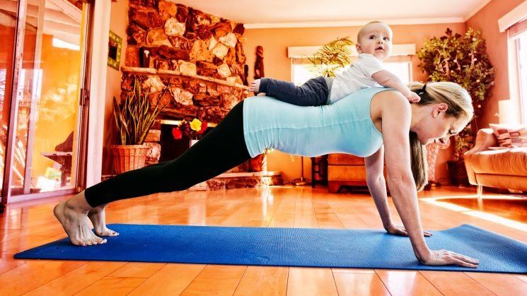 The Most Fun Ways to Work Out With Your Baby