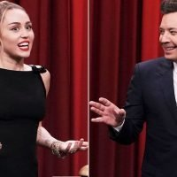 Miley Cyrus Struggles to Identify Her Own Hit in 'Name That Song' Challenge on 'The Tonight Show'