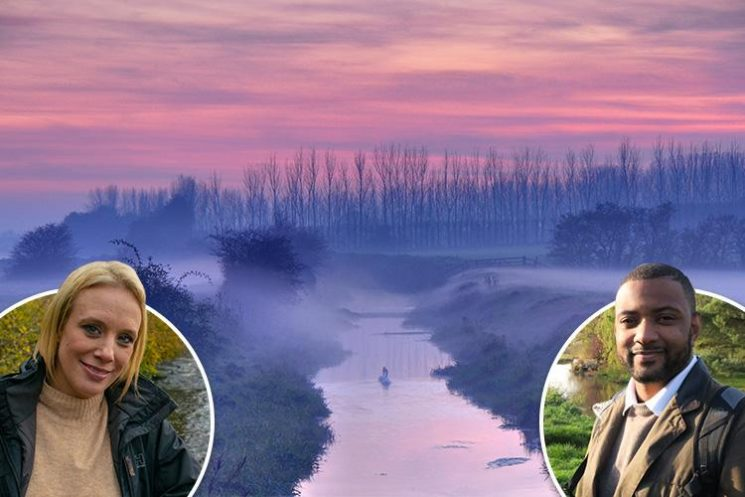 Celebs take us for a waterside stroll — from Exe in West Somerset to Stour in Kent