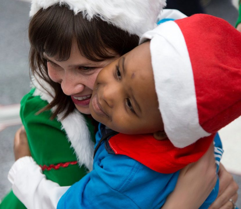 United Flies Kids in Need to the 'North Pole,' Delivers Presents Through Touching Fantasy Flight