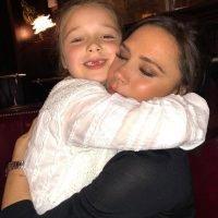 Victoria and David Beckham's Daughter Harper, 7, Adorably Tells Santa 'Don't Get Too Drunk'