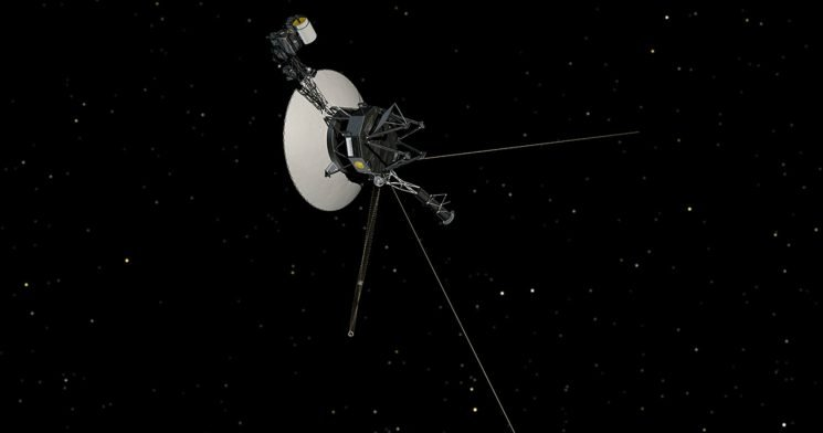 Voyager 2 Becomes Only The 2nd Man-Made Object To Leave The Solar System