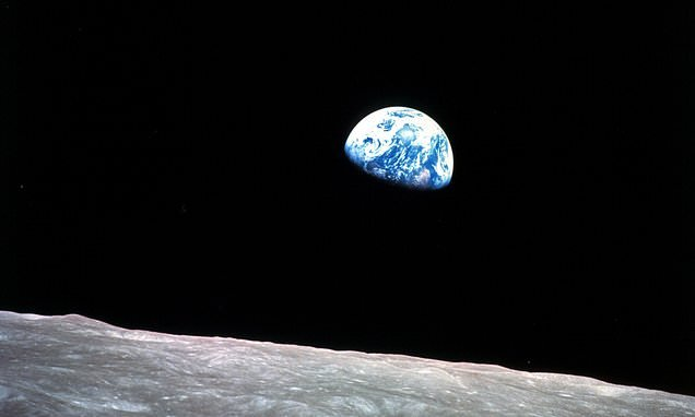 How NASA's iconic 'earthrise' photo was shot 50 years ago