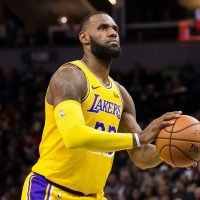 LeBron James still 'garbage' from free-throw line, but does it matter?