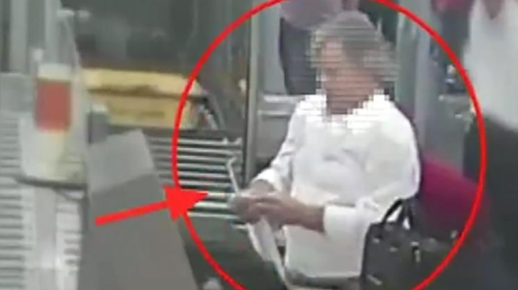 Airport thief filmed stealing thousands in cash from security tray during screening