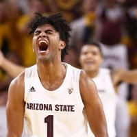 Arizona State takes late lead, stuns No. 1 Kansas