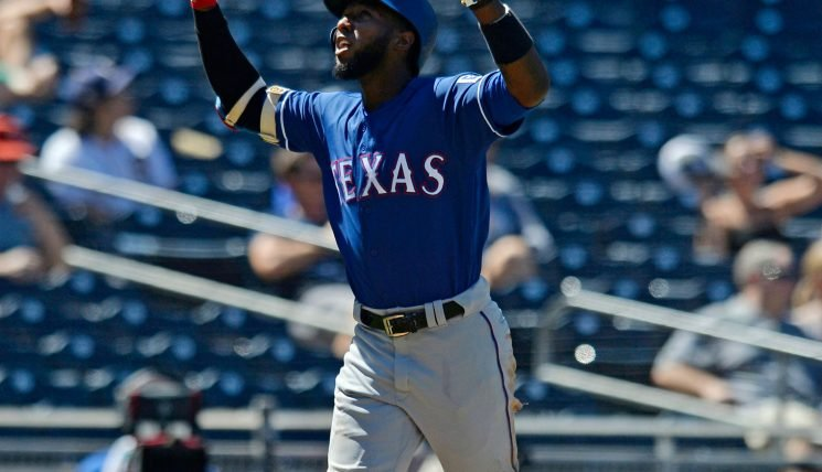 Athletics get Jurickson Profar from Rangers in three-team deal