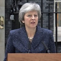 British PM Theresa May using Brexit as threat, leverage amid impending no-confidence vote by lawmakers