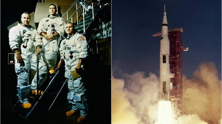 Apollo 8 astronauts recount NASA's epic first mission to the Moon
