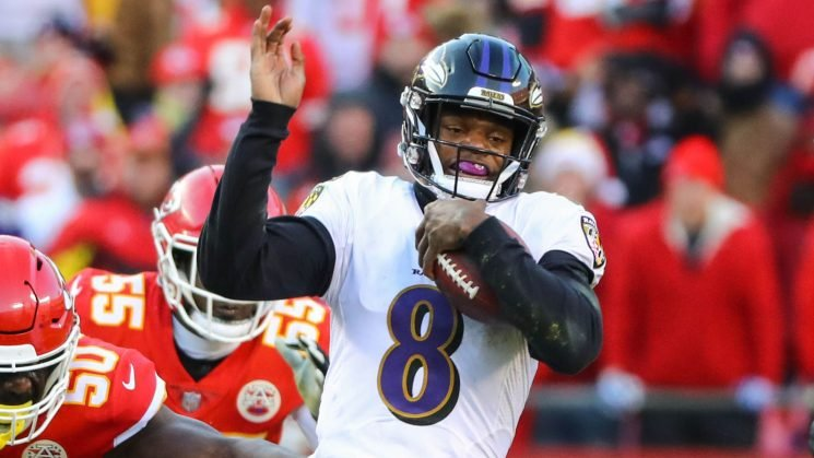 NFL playoff picture after Week 14: Despite loss, Ravens narrowly remain in field