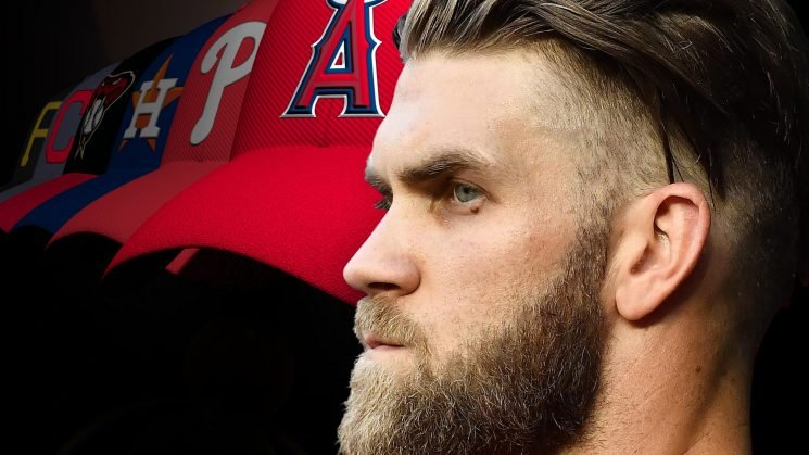 Bryce Harper would fit in well next to Mike Trout in Angels' outfield — in 2021, or now