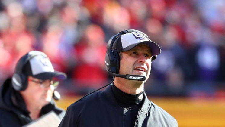 Ravens announce that coach John Harbaugh will return in 2019