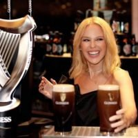 Kylie gifts fans attending Dublin and Belfast gigs free entry to Guinness Storehouse