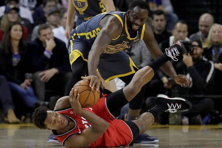 Raptors rout Warriors 113-93 without Kawhi