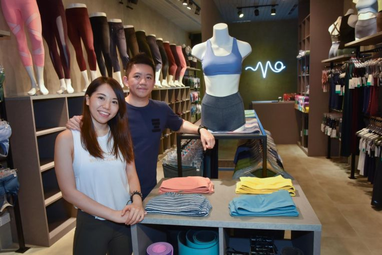 Early bird gains first-mover advantage in Singapore's athleisure market