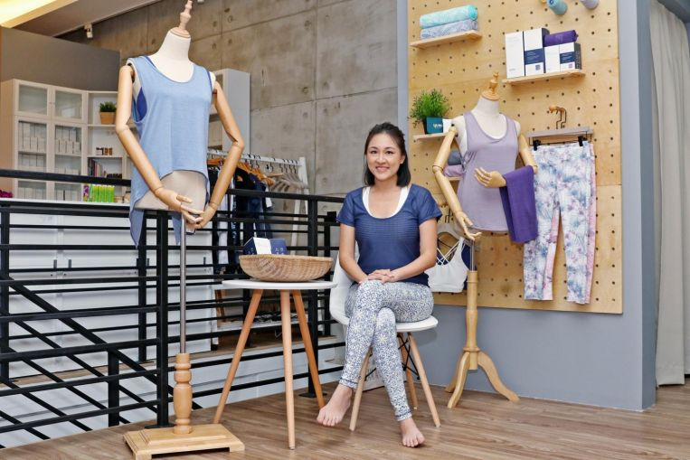 Asian-inspired designs for budding local athleisure brand