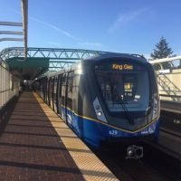 First new MK III SkyTrain hits the track, but others running months late