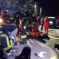 Six killed, dozens injured in stampede at packed Italy nightclub