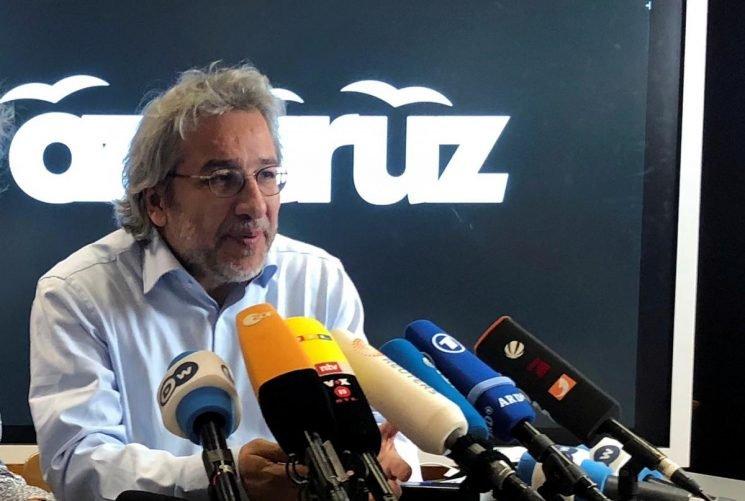 Turkish authorities seek arrest of journalist Dundar over 2013 protests
