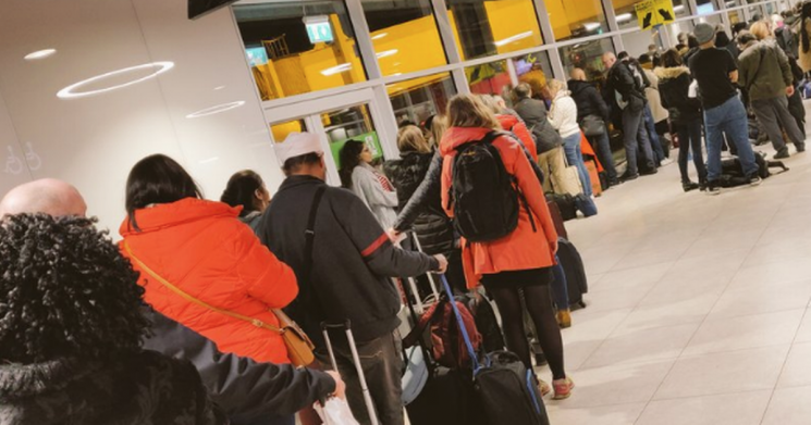 Ryanair's cabin bag policy leaves passengers livid as they face longer queues
