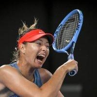 Open shock: Maria Sharapova eliminates defending champion