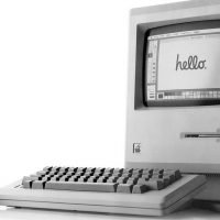 Apple CEO Tim Cook celebrates the 35th anniversary of the Macintosh