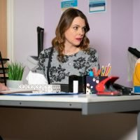 Huge Corrie clue 'revealing' the real dad of Amy Barlow's baby