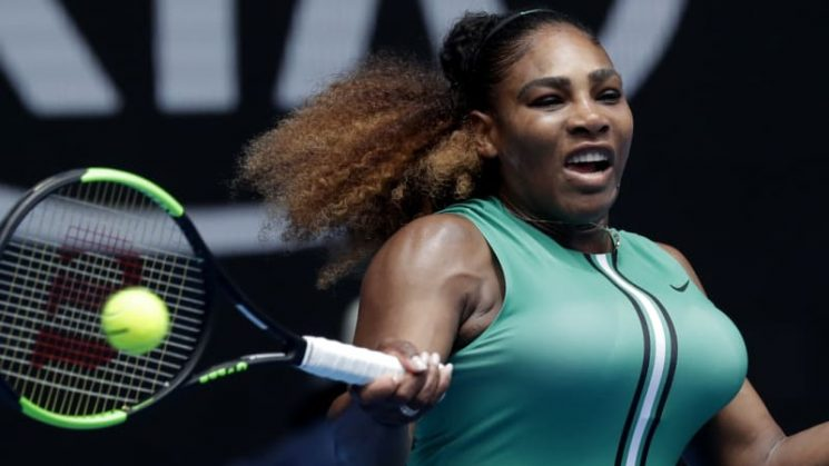 Williams storms into Open's second round