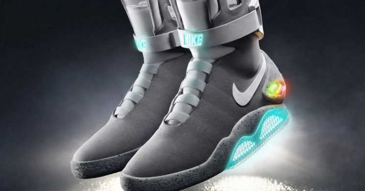 Nike teases self-lacing trainers that can you can control from your phone