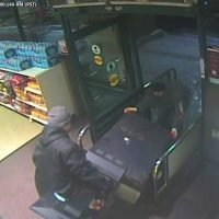 Suspects seen removing lottery kiosk from supermarket