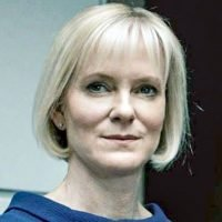 Luther star Hermione Norris says the show is so scary even she can't watch it