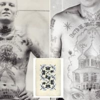 The fading tattoos on Russia's Soviet-era gangland prisoners
