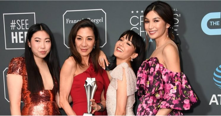 The Crazy Rich Asians Cast Won Big at Critics' Choice —and Looked Damn Good to Boot!