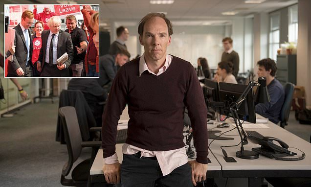 Benedict Cumberbatch plays the mastermind of the Vote Leave campaign