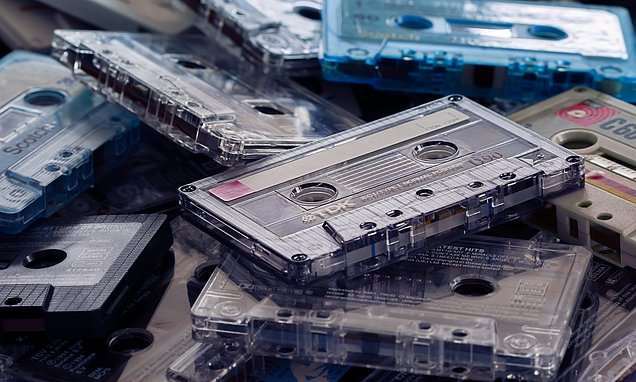 Cassettes make a comeback as sales of albums on tape more than double