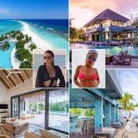 Inside Rita Ora, Sam Faiers and Jaime Winstone's luxe Maldives island