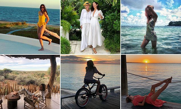 How society beauties are kicking off 2019 with sun-soaked holidays