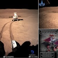 Chinese moon rover sends cute social media posts before taking a nap