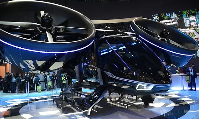 Bell unveils flying taxi that users could hail like an Uber by 2023
