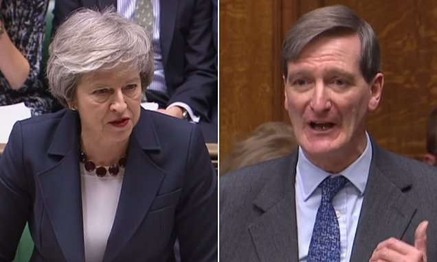 May suffers ANOTHER Brexit defeat in the Commons