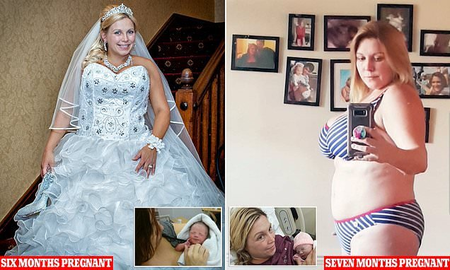 Mother who didn't know she was expecting has a SECOND surprise baby
