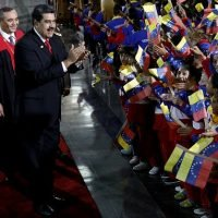 Venezuelan president Nicolas Maduro threatened with sanctions